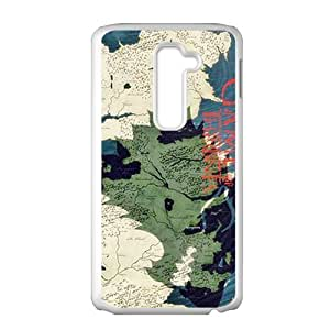 game map Phone Case for LG G2