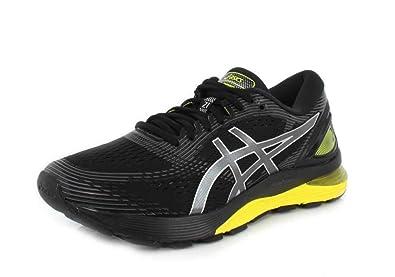 best website a31ea 50e4f ASICS - Chaussures Gel-Nimbus 21 pour Hommes, 42 EU, Black Neon