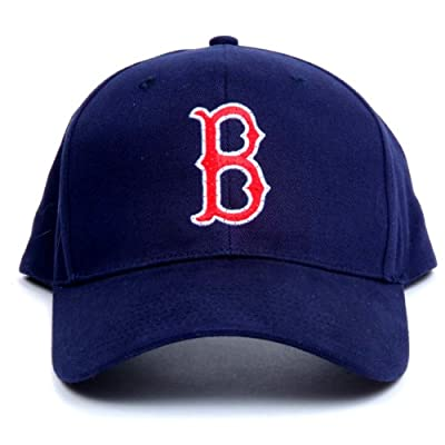 MLB Boston Red Sox LED Light-Up Logo Adjustable Hat