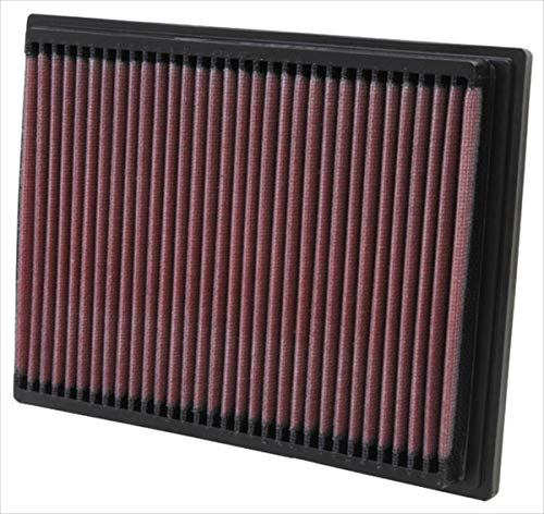 K&N engine air filter, washable and reusable:  1990-2006 BMW (X3, Z4, 520i, 525i, 530i, Z3, 728i, 728iL, 323Ti, 523i, 528i, M3) 33-2070 ()
