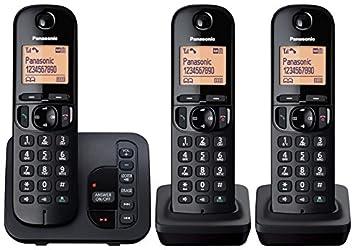 592b23aa6b9 Panasonic KX-TGC223EB Digital Cordless Phone with LCD  Amazon.co.uk   Electronics