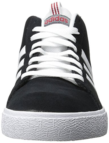 Adidas Neo Uomo St Medio Scarpe Medie Nero / Bianco / Rosso Potere