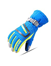 Triwonder Waterproof Ski Snowboard Gloves Thermal Warm Winter Snow Skiing Gloves for Men, Women and Kids