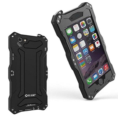 iPhone 6 Plus/6S Plus Metal Case, i-Nings Heavy Duty Water Resistant...