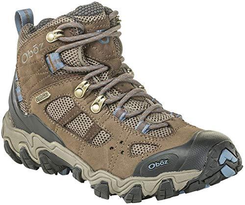 Oboz Bridger Vent Mid B-Dry Hiking Boot - Women's Brindle/Tradewinds Blue ()
