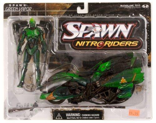 - McFarlane Toys Spawn Nitro Riders Green Vapor Series 16