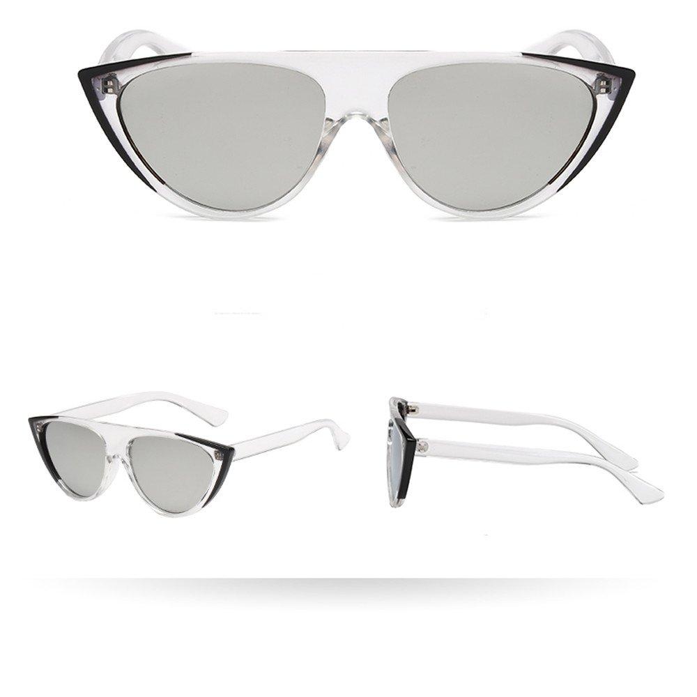 ♛TIANMI Women Man Vintage Cat Eye Sunglasses Unisex Outdoor Retro Eyewear Travel Fashion Ladies Man