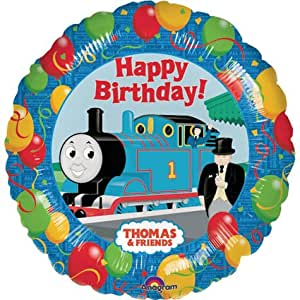 Thomas and Friends Happy Birthday Balloon Party Decoration