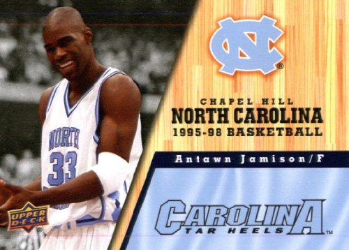 (2010/11 Upper Deck North Carolina Basketball # 74 Antawn Jamison )
