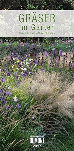Gräser im Garten 2017 - DuMont Wandkalender - mit den wichtigsten Feiertagen - Hochformat 33,8 x 68,5 cm