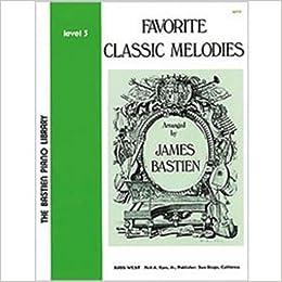 wp75 favorite classic melodies level 3 bastien