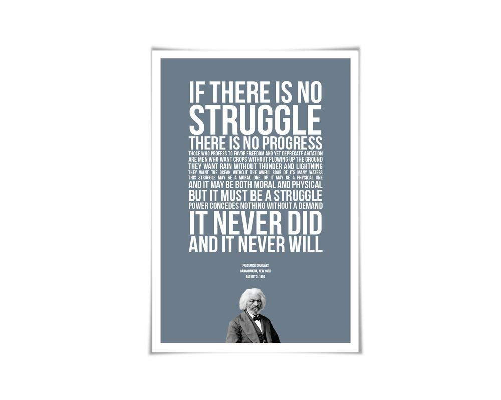 Amazon.com: Frederick Douglass Art Print. 60 Colours/4 Sizes ...
