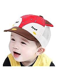 Baby Kids Boys Cute Fox UV Protection Summer Mesh Baseball Hat Sun Hat