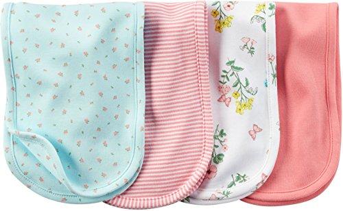 Carters Burp Cloth Light Pink