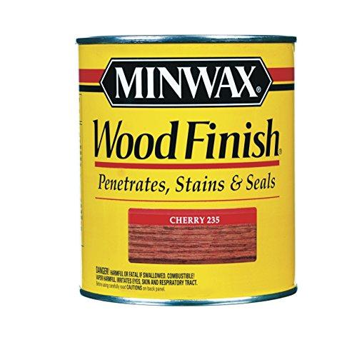 Minwax 70009 1 Quart Cherry Wood Finish Interior Wood Stain