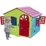 Palplay M780G Colorful Fun House, Green, Red, Blue; Medium