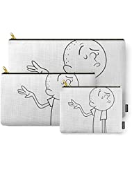 Society6 Karl Pilkington Carry-All Pouch