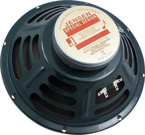 Jensen Speaker, Green, 10-Inch (C10Q8) (Best Replacement Speaker For Fender Princeton Reverb)