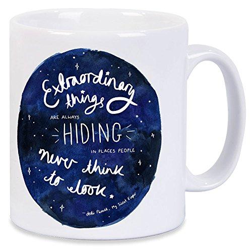 Jodi Picoult Quote My Sisters Keeper Extraordinary Things Mug