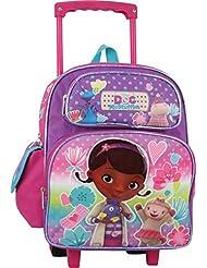Disney Doc McStuffins 12 Toddler Rolling Backpack