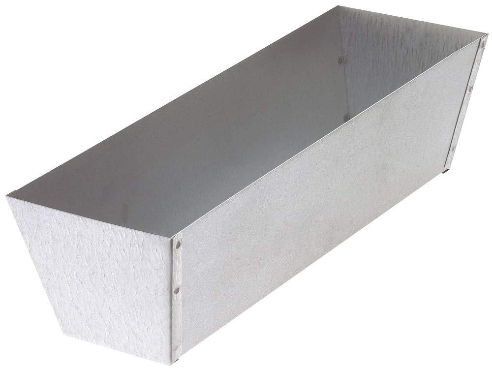 Warner 12' Galvanized Steel Drywall Mud Pan, 206