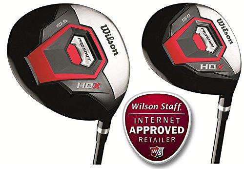 Wilson Prostaff HDX hierros con varilla de acero completa 11 ...