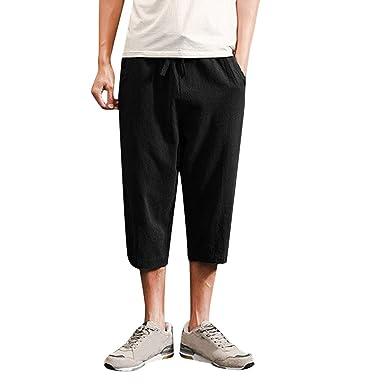 Pantalon Hombre Deporte Negro Pantalones Hombres Vaqueros ...