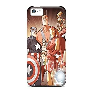 Fashion PLw482POvs Cases Covers For Iphone 5c(the Avengers)