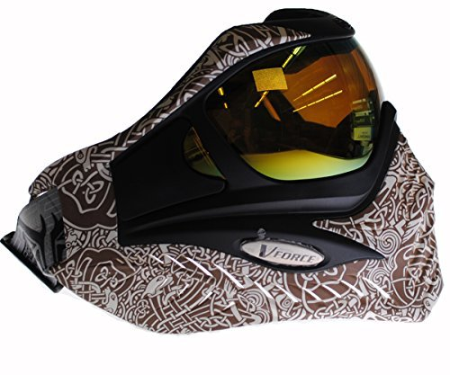 V-FORCE Grill Paintball Mask / Goggle - LIMITED EDITION - CELTIC EARTH