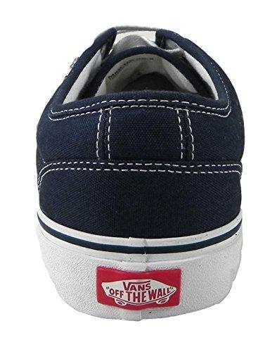 Bestelwagens Heren Sneakers 106 Gevulkaniseerd Skate Schoenen Marine Blauw / Wit