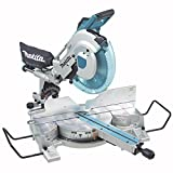 Makita LS1216X 12-Inch Dual Sliding Compound Mitre Saw with Workstation