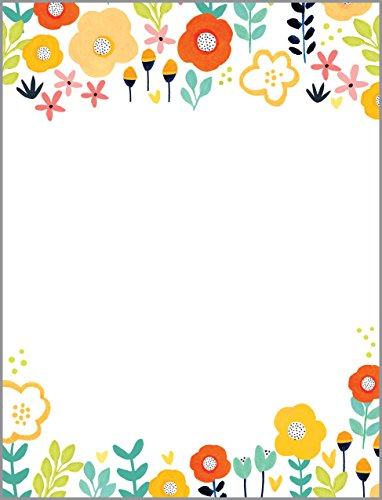 Red and Yellow Poppy Desk Note Refill, Memo Sheets 150 Note Papers, 3.25 x 4.25 Notes, Stationery, Desk Accessory, Fits Acrylic Note (Poppy Stationery)
