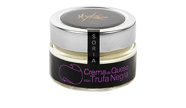 Mykés Gourmet - Crema de queso con trufa negra: Amazon.es ...