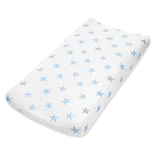 Tailored Snug Fit anais Classic Changing Pad Cover aden by aden Swans Briar Rose Super Soft Breathable 100/% Cotton Muslin Single