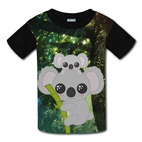 The Secret World Tree T-shirts Tee Shirt for Kids Tops Costume Round Black XL - Good Movie Couple Costume Ideas