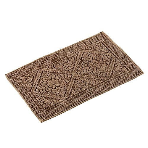 Collections Etc Stone Ridge Antique Accent Rug, Chocolate, 27'' X 45'' by Collections Etc