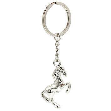 Amazon.com: BuW llavero de alta calidad estilo caballo de ...