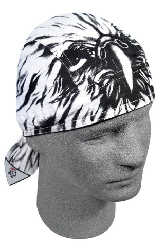 ROAD HOG, FLYDANNA;, 100% COTTON, AIRBRUSHED EAGLE, Manufacturer: ZANheadgear, Manufacturer Part Number: ZSG033-AD, Stock Photo - Actual parts may vary.