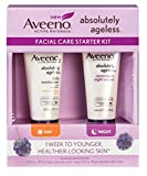 Aveeno Absolutely Ageless Daily Moisturizer Aveeno Absolutely Ageless Facial Care Starter Kit (Pack of 3)