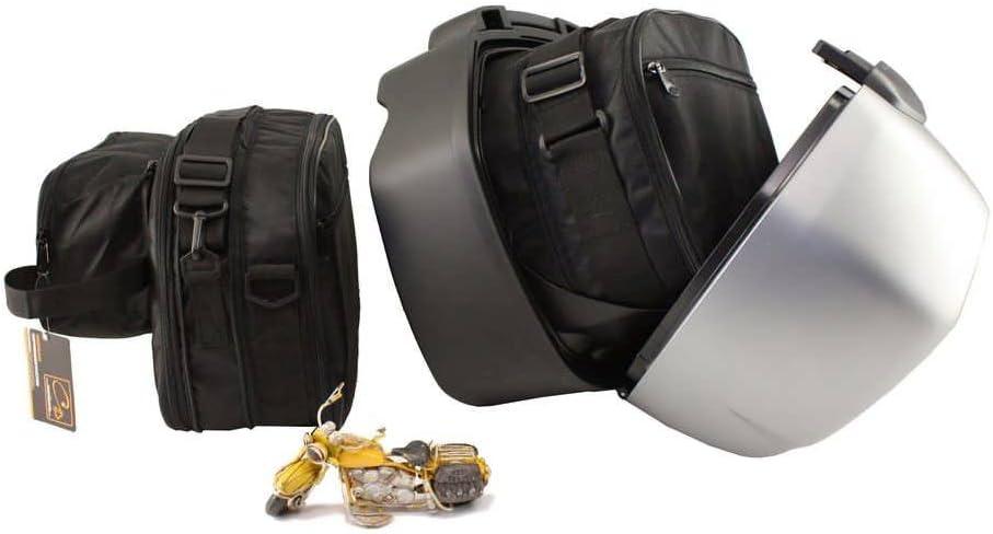 made4bikers: Bolsas Interiores Adecuado para de los Modelos BMW R1250R R1250RS a Partir de 2018 y R1200R R1200RS a Partir de 2015 (R 1200 1250 R RS)
