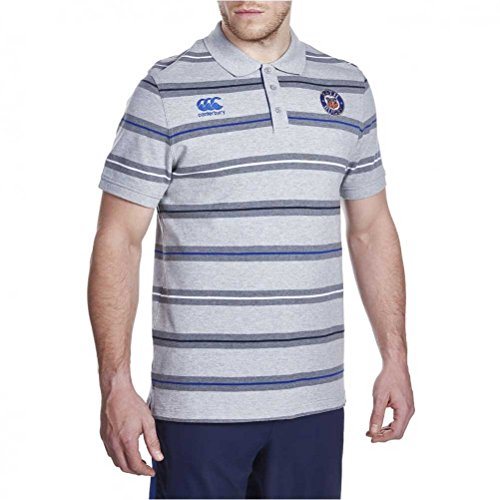 fan products of CCC Bath rugby stripe polo [grey]-3X-Large