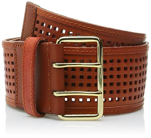 Linea Pelle Women's Addison Belt, Cognac, S - Linea Pelle Brown Belt