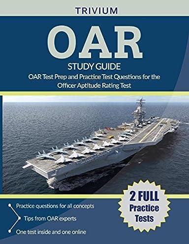 oar study guide 2018 2019 oar test prep and practice test questions rh amazon com