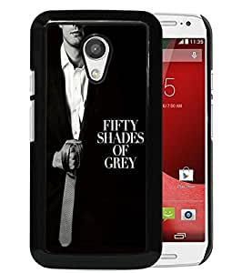 Excellent protection,Lightweight and durable Fifty Shades Of Grey Tie Black Motorola Moto G (2nd generation) Case