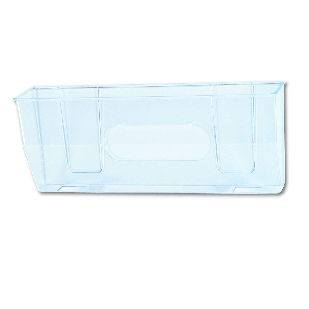 50101 Docupocket Oversized Magnetic Wall File Pocket, 15w x 3D x 6-3/8h, Clear (2 Pack) by DEFLECT-O