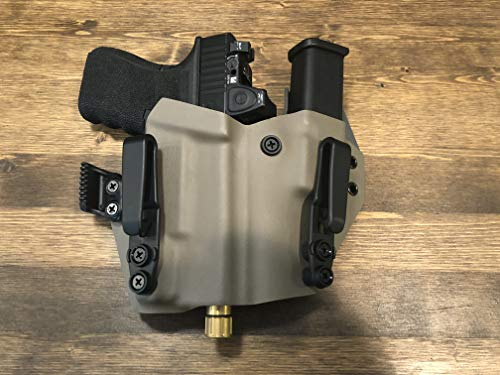 IronXHolsters Glock 17 22 31 IWB Appendix Holsters Inforce APLc