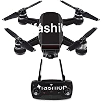 Skin for DJI Spark Mini Drone Combo - Fashion| MightySkins Protective, Durable, and Unique Vinyl Decal wrap cover | Easy To Apply, Remove, and Change Styles | Made in the USA