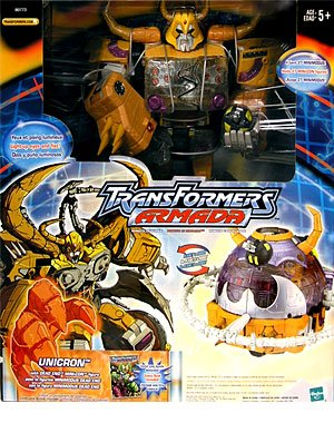 Amazon Com Transformers Armada Unicron Action Figure Hasbro Toy