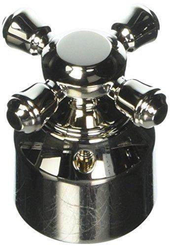 Delta Faucet H595PN Cassidy Single Cross Bath Diverter/Transfer Valve Handle Kit, Polished Nickel