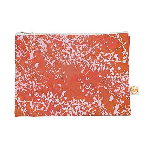 Kess eigene 12,5x 21,6cm Iris Lehnhardt Zweige Silhouette Coral Alles Tasche–Orange